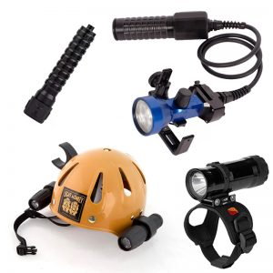 Cave Diving Torches
