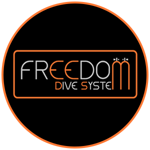 Freedom Dive System Logo Round