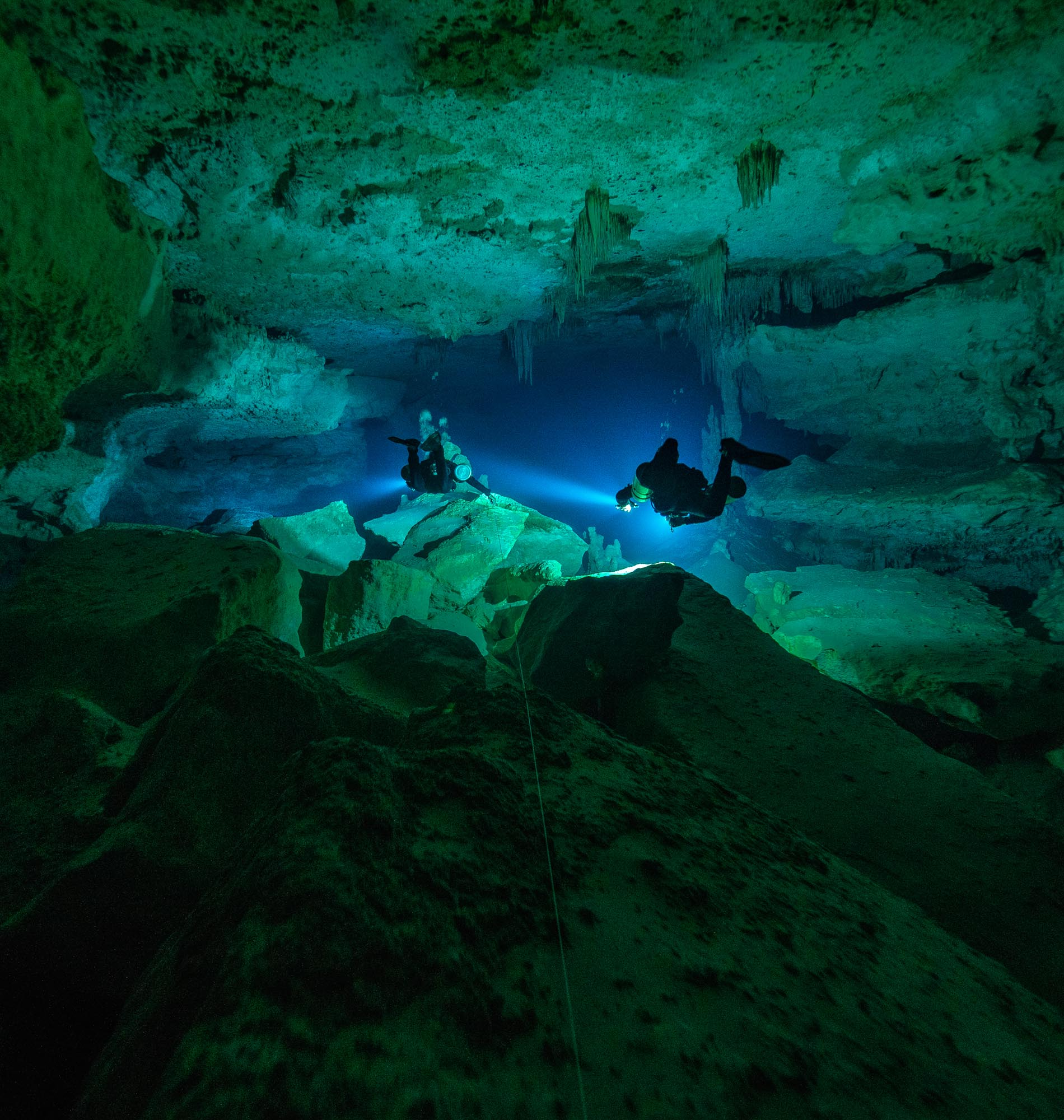 Learn to Cave Dive Cenote Nariz