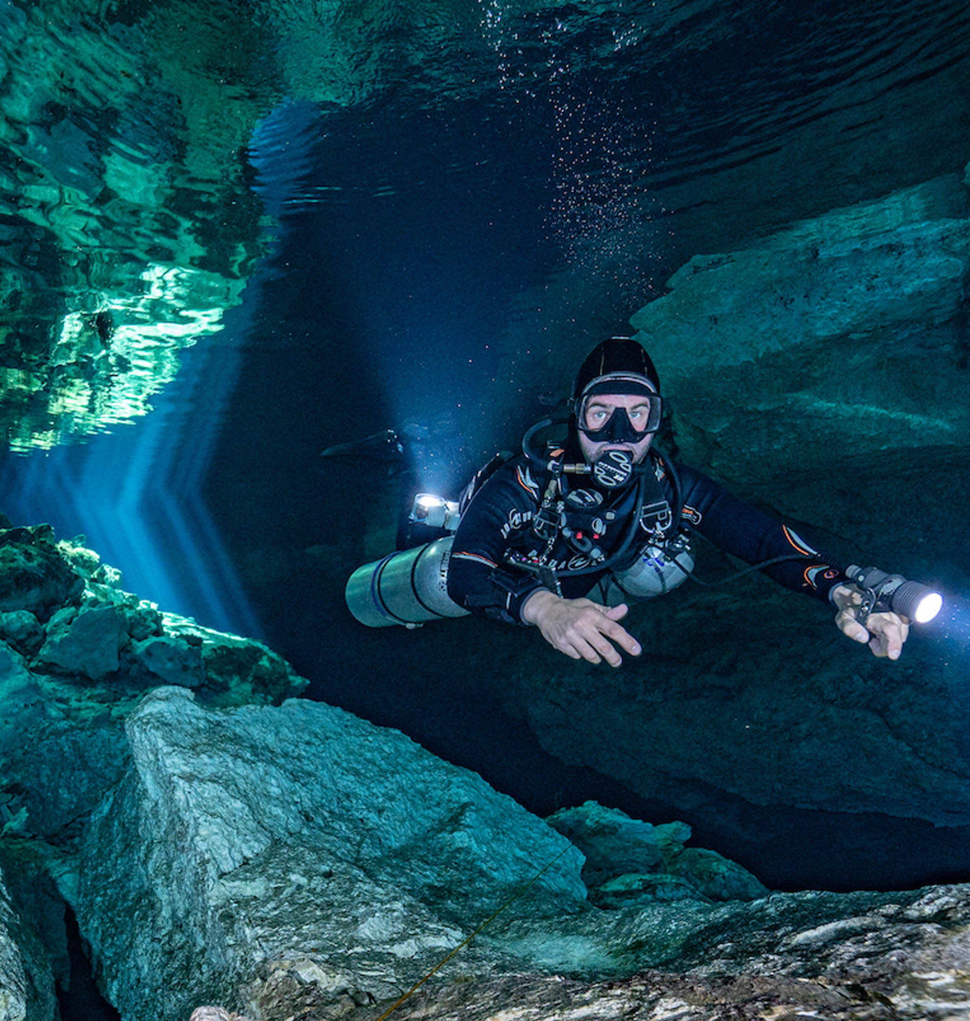 Learn to Cave Dive in Cenote Tajmaha, Tulum, Mexico