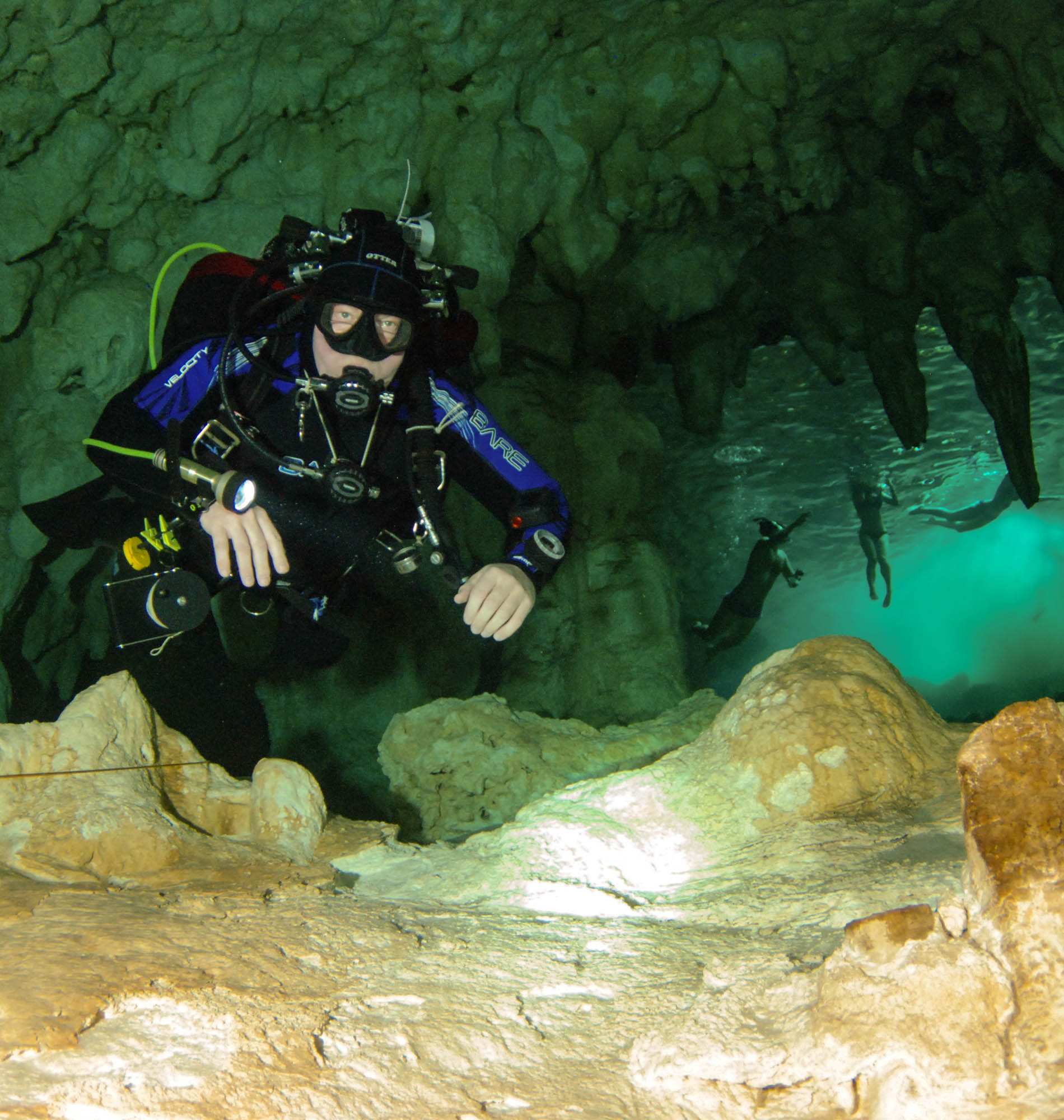 Learn to Cavern Dive